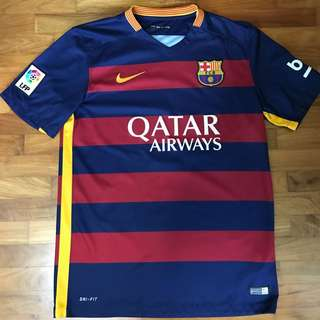 Authentic Barcelona home jersey
