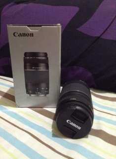 Canon EF 75-300mm f4 5.6 III Lens intl (With BOX and 2 Caps)