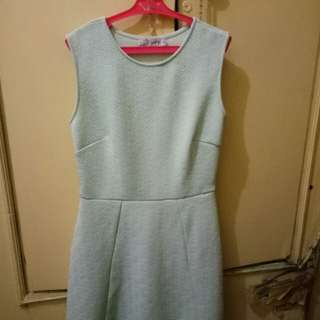 Mint Green Dress (Small to Medium)
