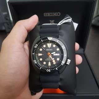 "Seiko limited edition ""Black Series"" Prospex"