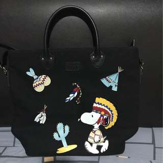 **Repost ( che che New York Limited edition snoopy bag)
