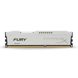 BN Life time Warranty - Kingston HyperX FURY 8GB ram 1866MHz DDR3 ( White Red)