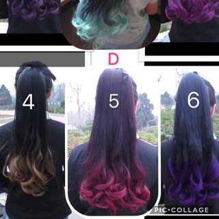Brand new beautiful ponytail hair wig!