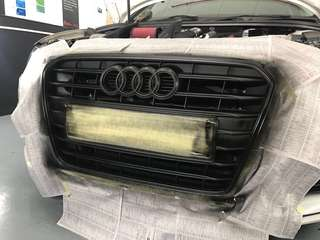 Audi grille dipped!!