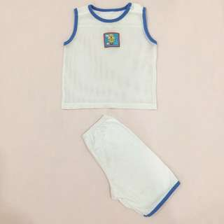 Baby boy clothing sleeveless tops & short set