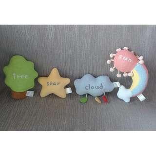 Rattle/stuffed toy