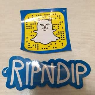 RIPNDIP sticker