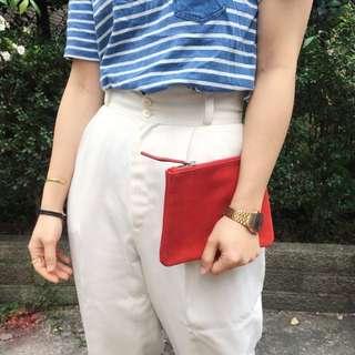 ☆橘紅麂皮包包☆