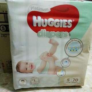 Huggies Diapers Platinum size S 3-8 KG