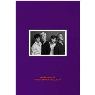 WINNER 2018 WELCOMING COLLECTION (1DISC) 02.28