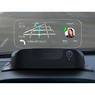 Navdy - Heads Up Display & GPS Navigation - Stay Connected with Maps, Calls, Texts & Music Projected Through Your Windshield