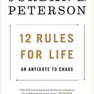 12 rules of life an antidote to chaos