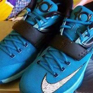 Brand New KD7 Blue Lacquer Shoes (Basketball)