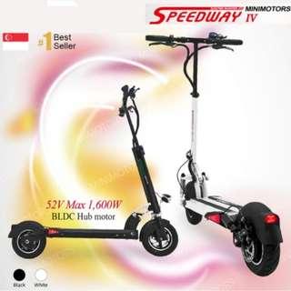 Speedway Speed Way 4 IV Futecher 52V 600W 30.5AH