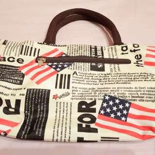 美國國旗手提包