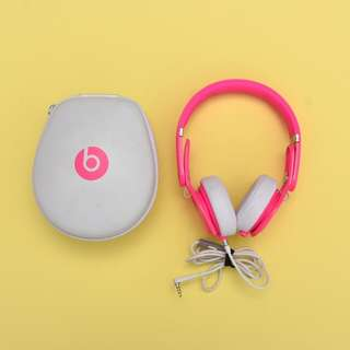 Beats by Dre Neon Pink Mixr Headphones