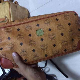 Authentic Mcm clutch bag