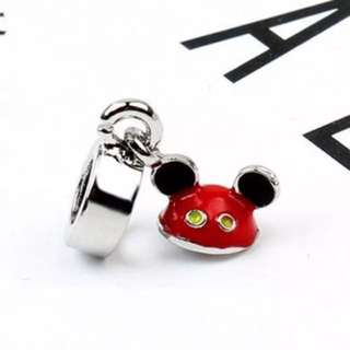 Mickey's Hat Red Charm