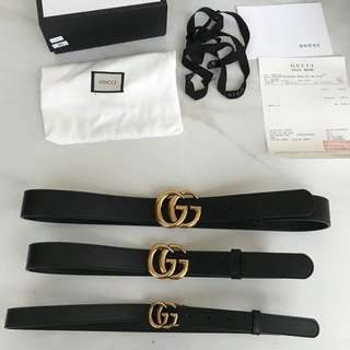 Gucci belt GG (ask for price)