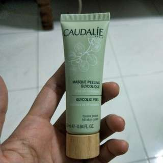 Brand new CAUDALIE masque peeling glycolique 25ml