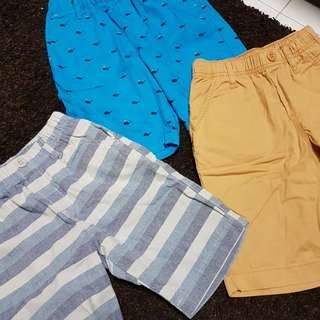 Uniqlo boy shorts 3 pieces at  $18 only
