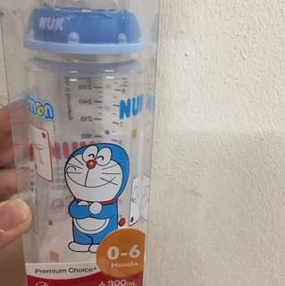 Nuk Doraemon milk bottle