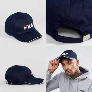 """INSTOCKS Navy """"Fila"""" Baseball Cap"""