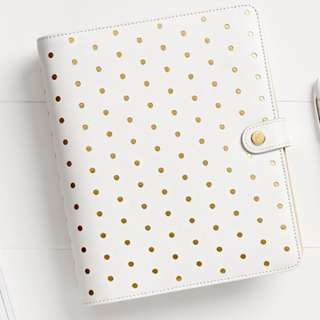 Kikki K Large Leather Personal Planner