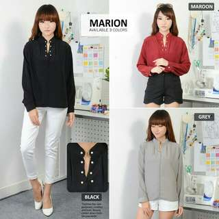 MARION TOP DIAMOND  bahan twiscone fit to L