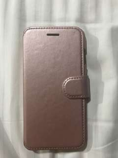 iPhone 7 leather case