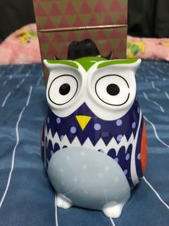 BNWB Authentic The Gang by Charles Millen Owl Coin Bank