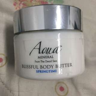 Aqua Mineral from the Dead Sea Blissful Body Butter