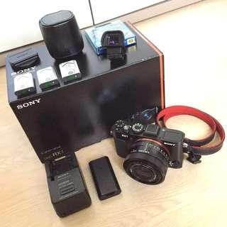 Full Frame Camera Sony RX1 + EVF