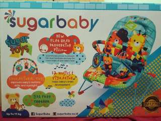 Sugarbaby deluxe musical vibration bouncer
