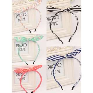 KOREAN HAIRBANDS #14(5 DESIGNS AVAILABLE)