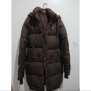 🚚 PUMA修身長版防寒大衣羽絨外套