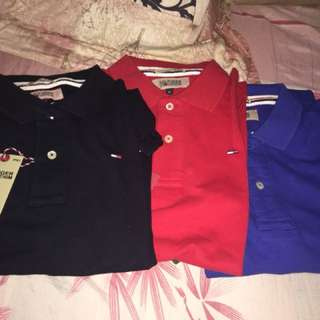 Tommy polo shirt Medium