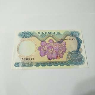 Orchid Series $50 old notes
