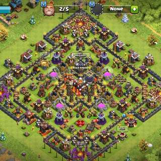 Clash of clans townhall 10 account