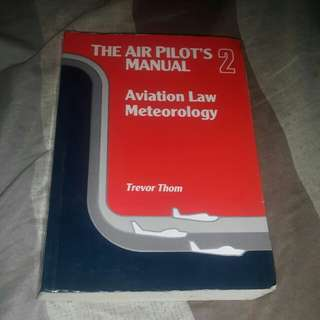 The Air Pilot's Manual Aviation Law Meteorology by Trevor Thom