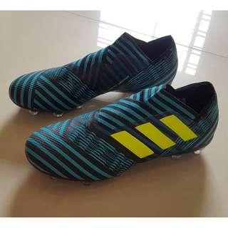 Soccer Boots Adidas NEMEZIZ Ocean Storm Sz US7.5