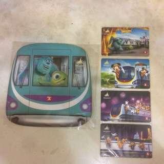 港鐵 迪士尼樂園紀念車票 地鐵 MTR
