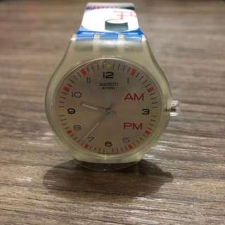 Swatch STBK102-25全新原裝膠手錶