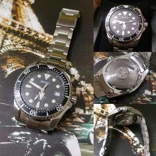 Seiko SBDC007 Shogun Prospex Auto Ti Diver Watch Fullset