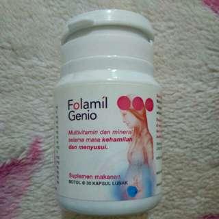 Folamil Genio vitamin hamil