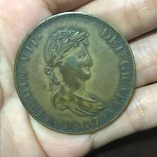 Old coin