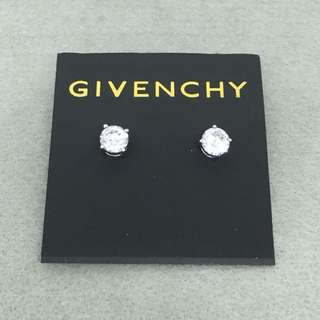 Givenchy Sample Earrings 銀色閃石耳環