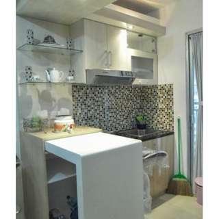 Unit bulanan full furnish 2BR Sentra Timur Residence