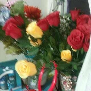 Flowers($15  each)