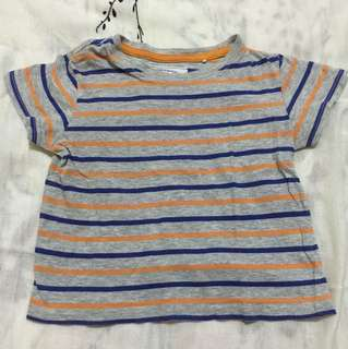 Preloved Shirt (Gingersnaps) for 6mos to 1yr old